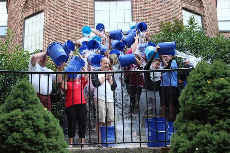 District makes a splash with Ice Bucket Challenge