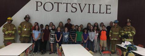 Schuylkill Achieve students celebrate Fire Prevention Week
