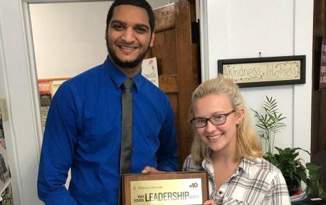 Senior Lauren Hunter wins a $20,000 scholarship