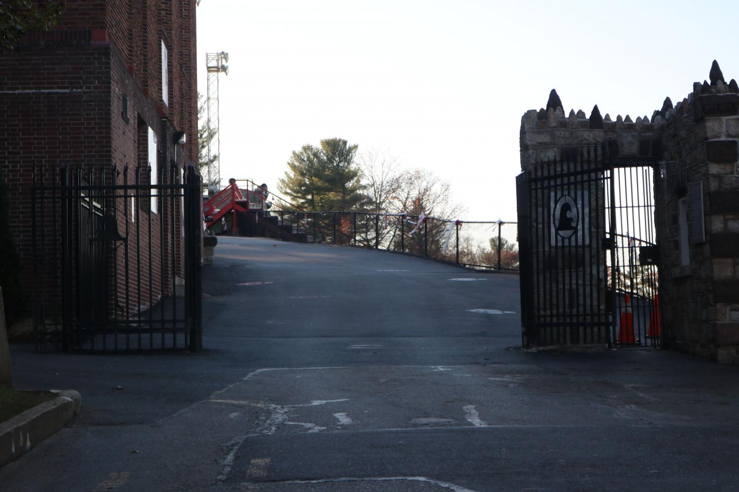 The 5K course followed the same path the cross country team uses. All participants ran through the gate of Veterans Memorial stadium at the race's end.