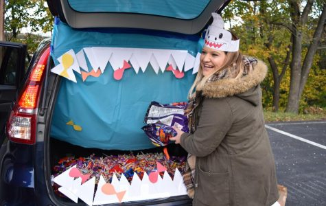 Trunk-or-Treat provides fun and safe trick-or-treating