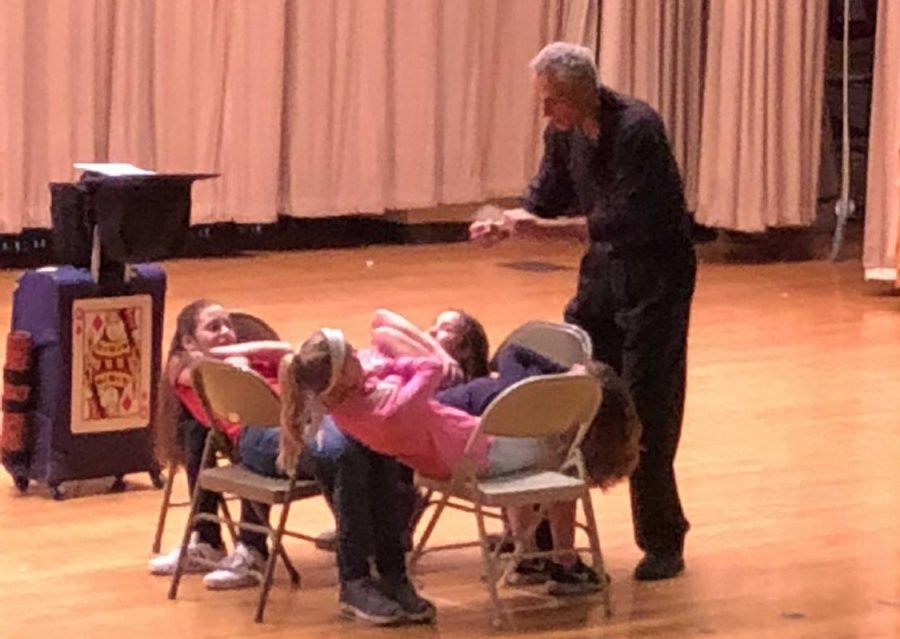 """Magic with a Message"" wows Lengel students"