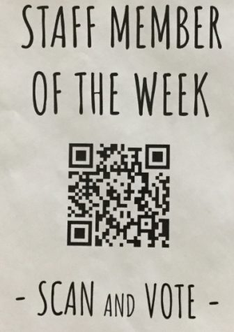 "Students choose weekly ""staff members of the week"""