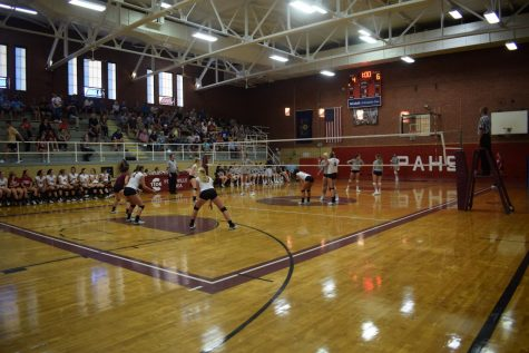 BUMP, SET, SPIKE! A Glance at PAHS Volleyball
