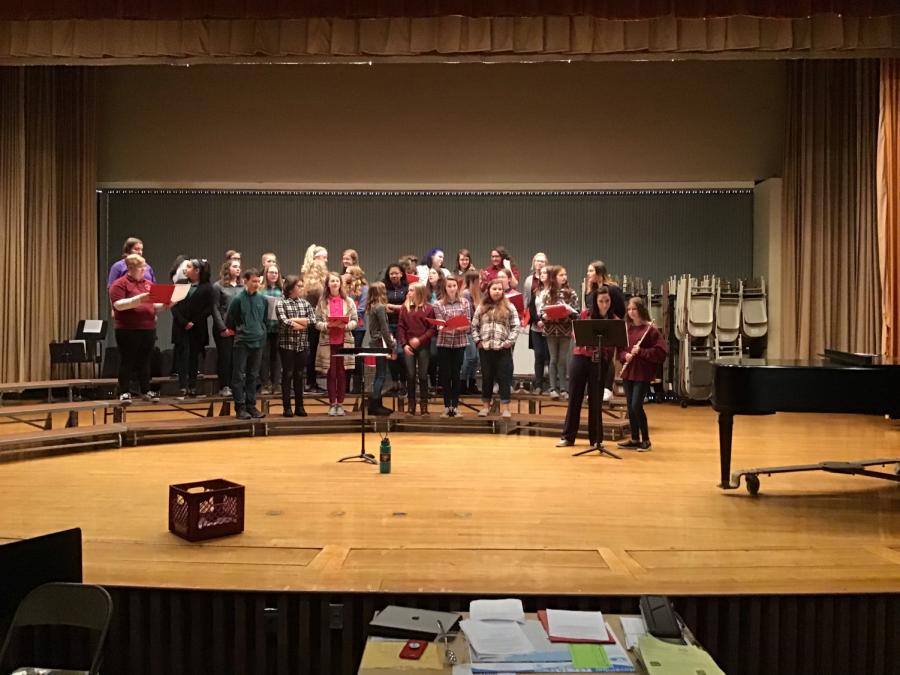 Lengel choirs spread holiday cheer