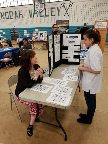 Pottsville Students take on the Transition Fair